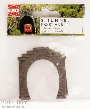 Tunnelportalen (2stuks) Enkel