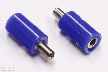 Stekker blauw. M