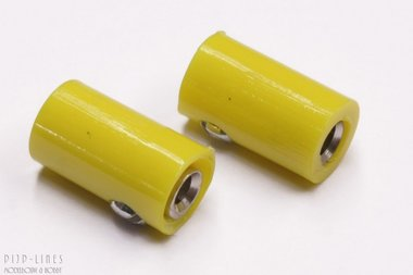 Stekker geel. V