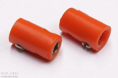 Stekker oranje. V