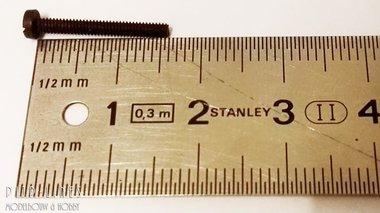 Schroef voor motoren. 1,6 cm