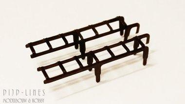 Ladder set voor Fleischmann Stoomlocs H0