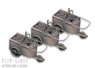 3 kolenkarren