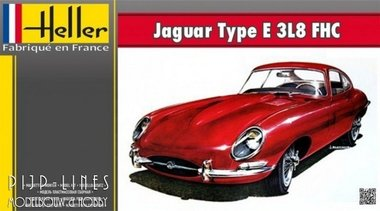 Jaguar E-type 3L8 FHC