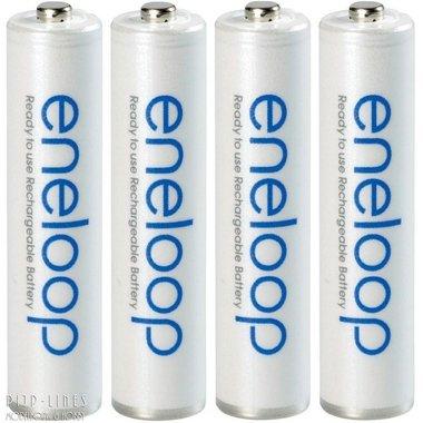 Eneloop batterijen AA. 1900/2000mAh. 4 stuks.