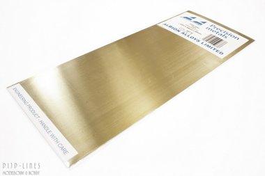 Messing sheet. 0,4mm