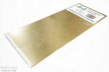 Messing sheet. 0,25mm