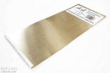 Messing sheet. 0,12mm