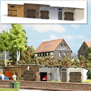 4 Schuren/Garageboxen