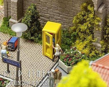 2 Telefooncellen Bundespost