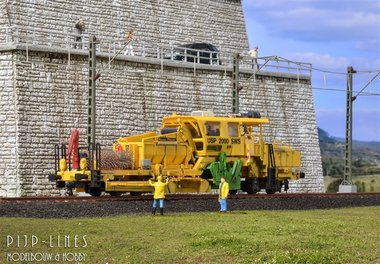 Ballast Profileer Machine