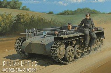 German Pz.Kpfw.1 Ausf.A zonder opbouw