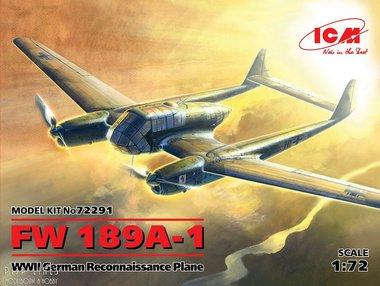 FW 189A-1 German Reconnaissance Plane WWII