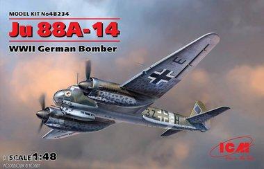 JU 88A-14 German Bomber WWII
