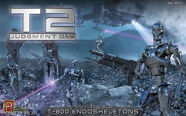 T2 Judgement Day T-800 Endoskeletons