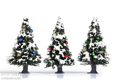 3 kerstboompjes