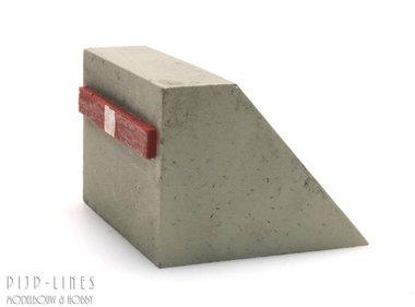 Betonnen stootblok N