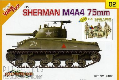 Sherman M4A4 75mm