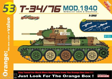 T-34/76 Mod. 1940 with Soviet GEN 2 Weapons