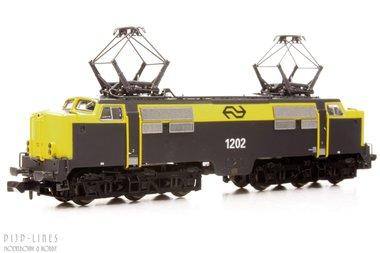 NS E-lok 1202 Geel/grijs N