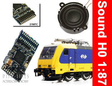 Loksound 5 TRAXX E 186 geschikt voor ACME