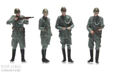 Nederlandse Politietroepen 1940 4 stuks