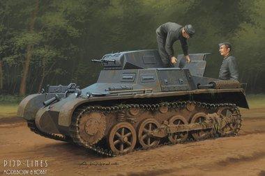 German Panzer 1 Ausf.A Sd.Kfz.101