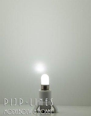 Led lamp op sokkel. Koud wit. 12-16 V