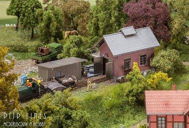 Veldbaan Locomotiefloods