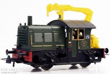 NS Sik groen met gele kraan nummer 360