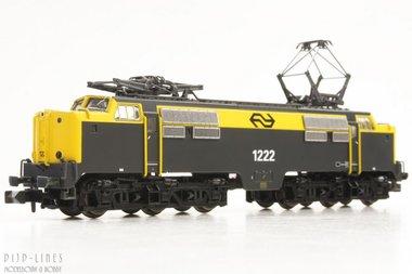 NS E-lok 1222 geel/grijs N