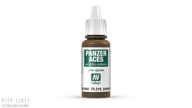 Vallejo Panzer Ances Dark Mud