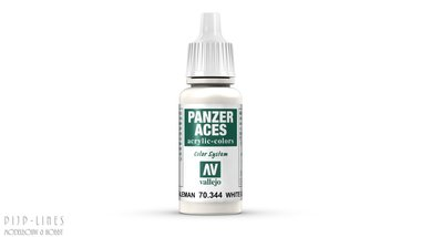 Vallejo Panzer Aces White (German Tanker)