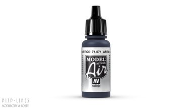Vallejo Model Air Artic Blue Metallic