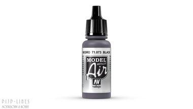 Vallejo Model Air Black Metallic