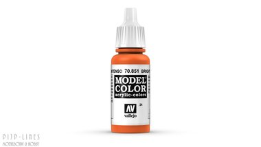 Vallejo Model Color Bright Orange
