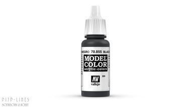Vallejo Model Color Black Glaze