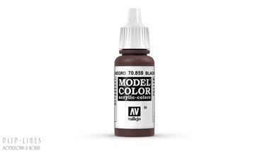 Vallejo Model Color Black Red