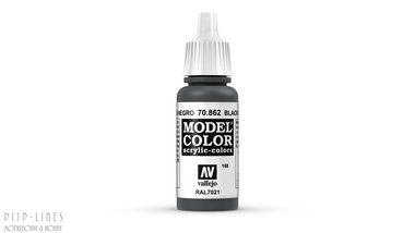 Vallejo Model Color Black Grey