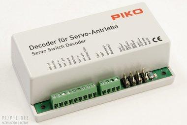 Servo-Wisseldecoder geschikt voor 4 servo's
