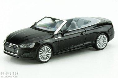 Audi A5 cabrio zwart metallic