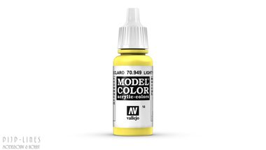 Vallejo Model Color Light Yellow
