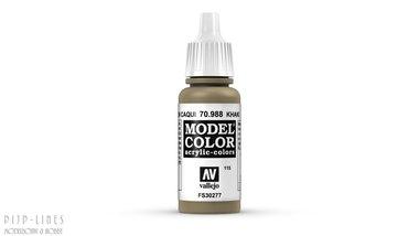 Vallejo Model Color Khaki