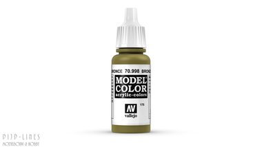 Vallejo Model Color Bronze