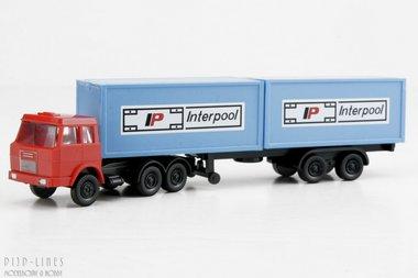 Henschel Containertruck Interpool