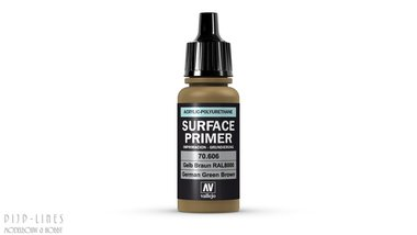Vallejo Surface Primer German Green Brown