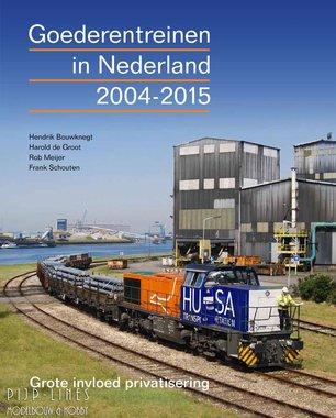 Goederentreinen in Nederland 2004-2015
