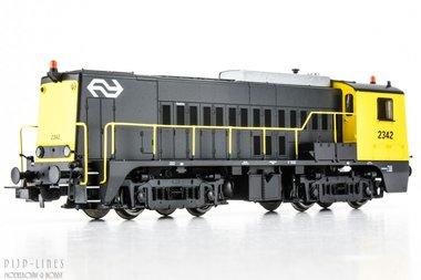 NS diesel locomotief 2342 DC analoog
