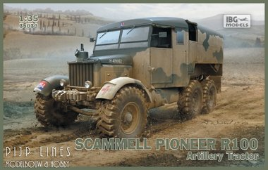 Scammell Pioneer R100 Artillery Tractor
