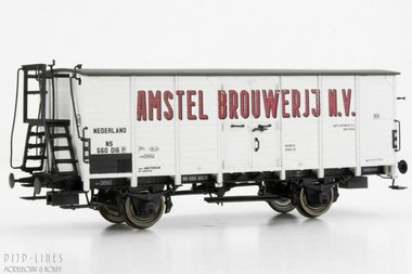 NS Gesloten wagon Amstel Brouwerij N.V. Type G10